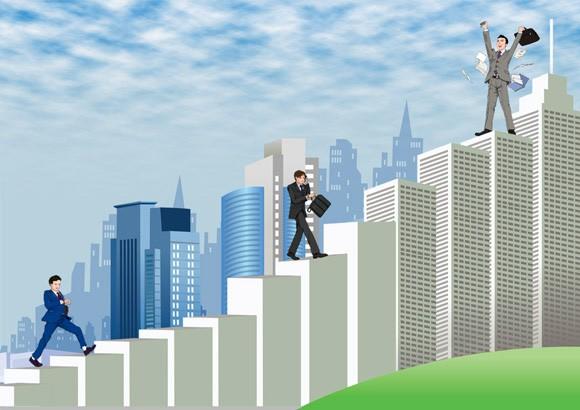 Рост по служебной лестнице