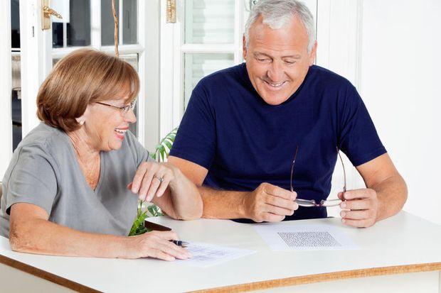 Пенсионеры в работе