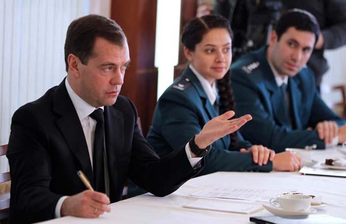 Премьер министр РФ