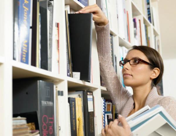 Работа библиотекаря