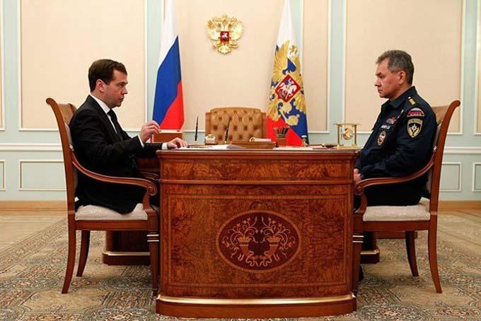 Министр МЧС России