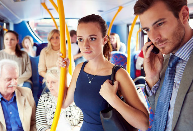 Езда в общественном транспорте
