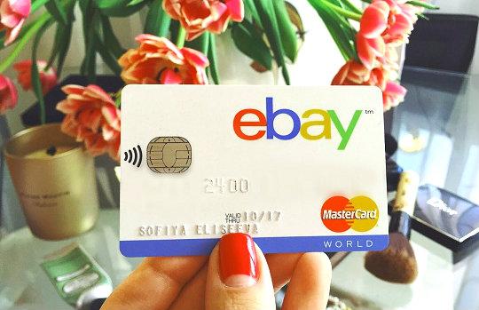 Дебетовая карта eBay от Тинькофф