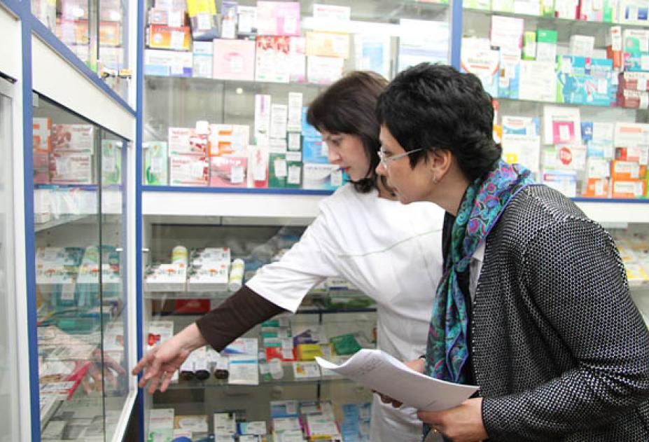 Работники аптеки
