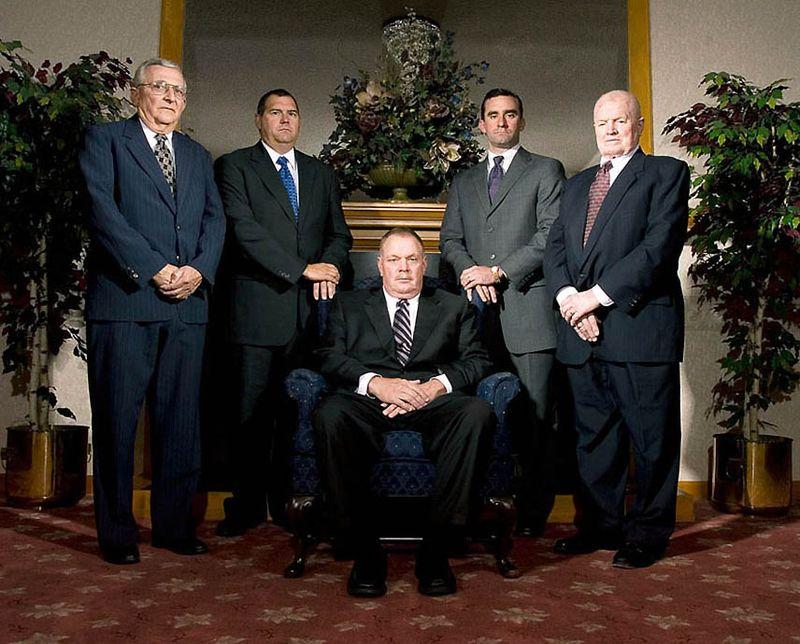 Персонал похоронного бюро