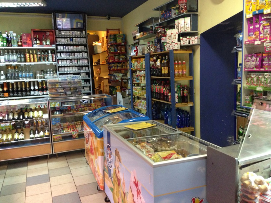 Помещение продуктового магазина