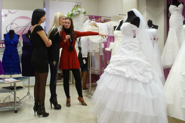 Сотрудник свадебного салона