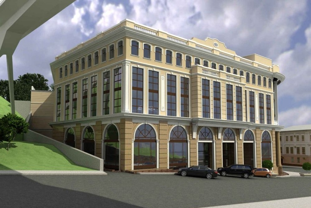 Фасад бизнес центра