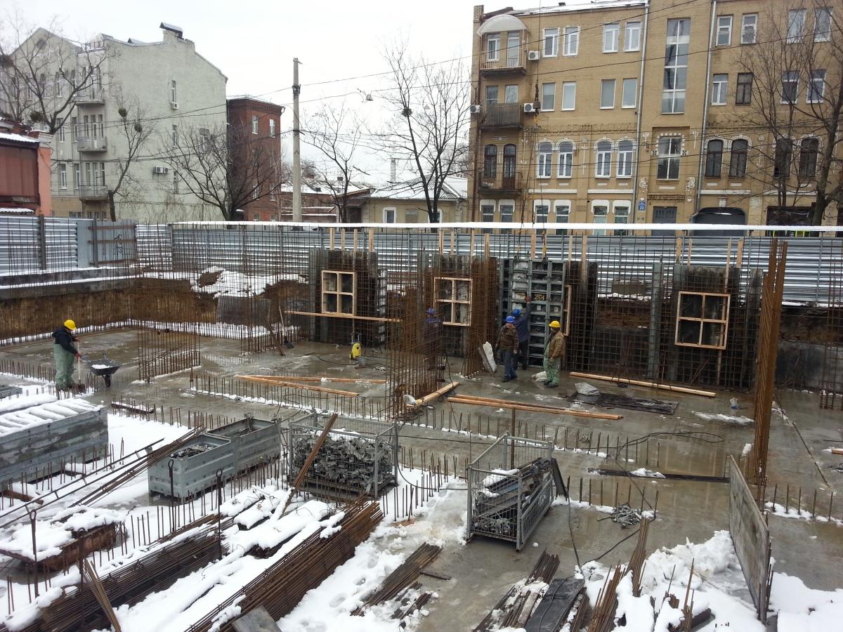 Строительство бизнес центра