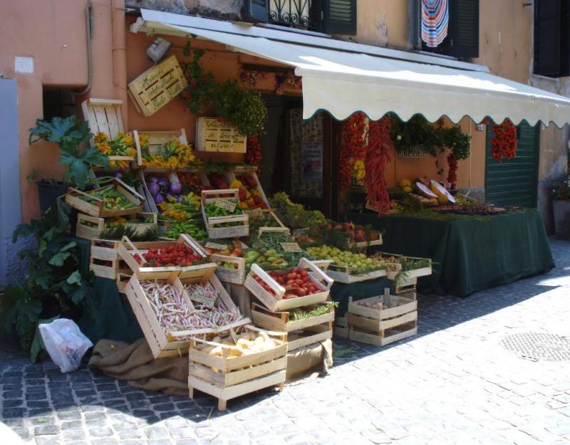 Киоск по продаже фруктов и овощей