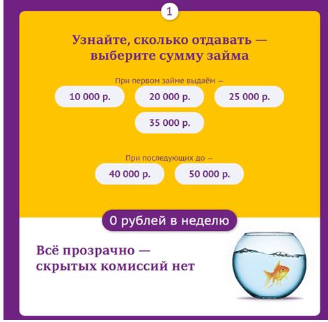 Лига денег заявка на кредит
