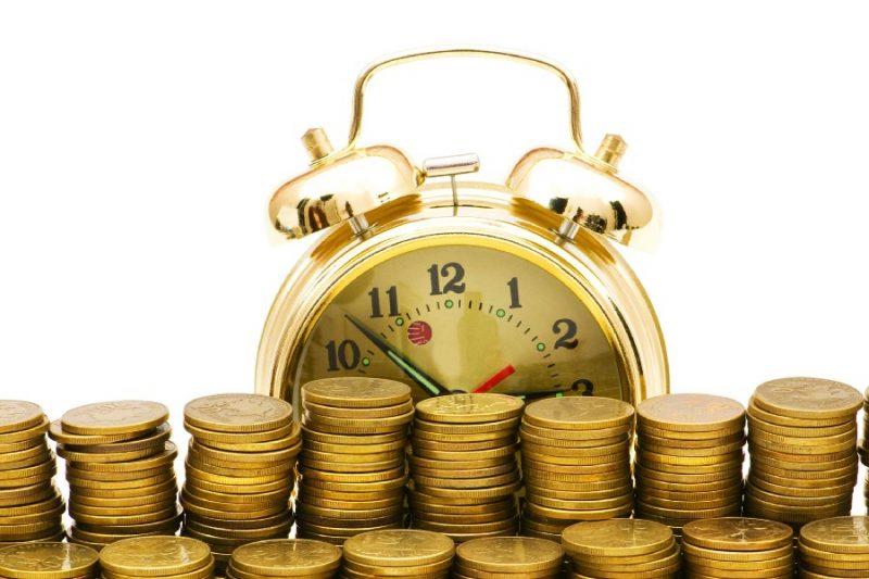 Часы и монетки