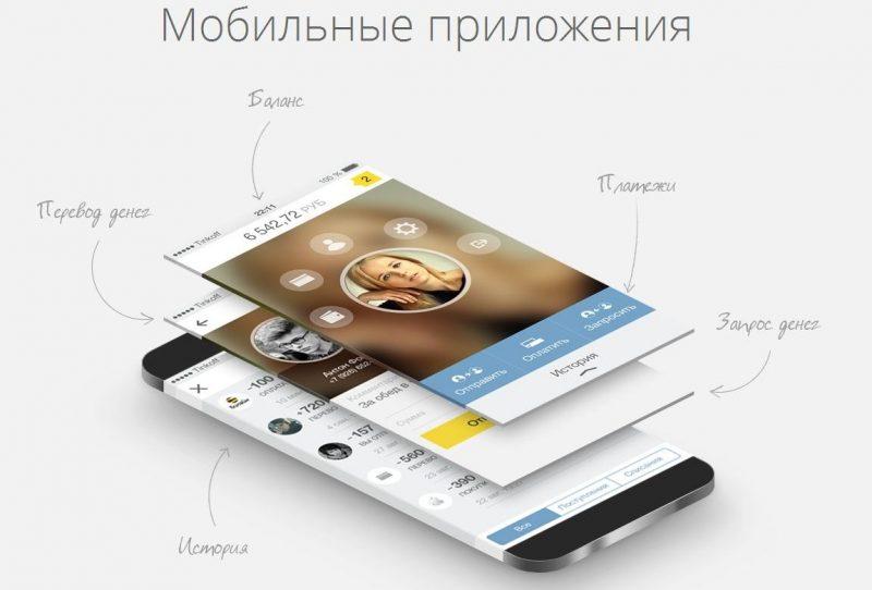 Мобильный кошелек Тинькофф
