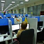 Рабочий день в офисе техподдержки