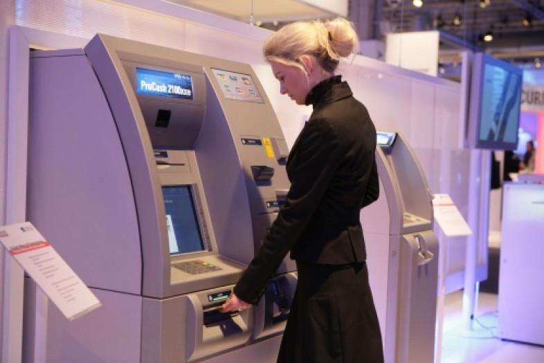 Оплата услуг в банкомате