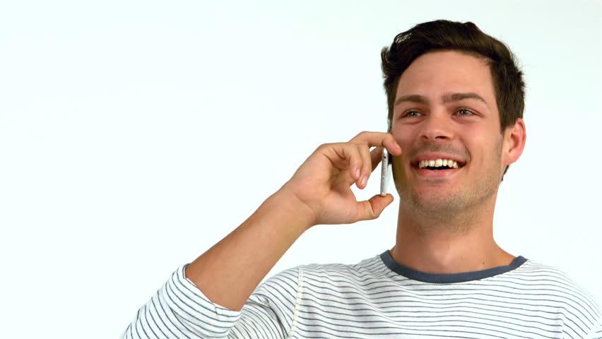 Мужчина звонит в компанию