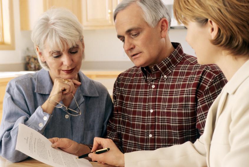 Пенсионеры составляют жалобу