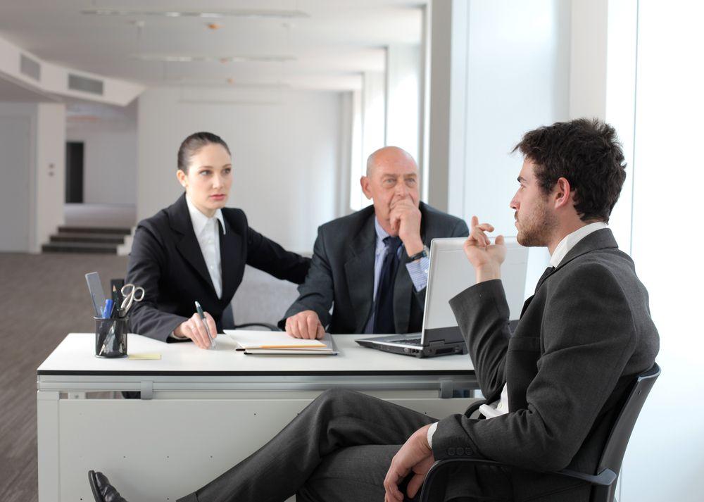 Диалог работника и начальника