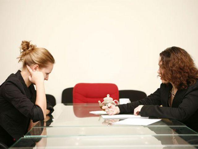 Сотрудница в кабинете у начальника