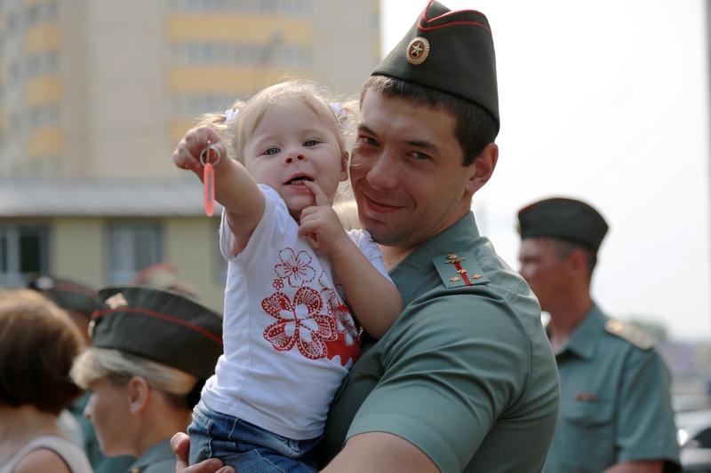 Ребенок военнослужащего